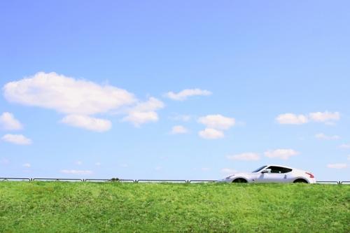 車のある風景