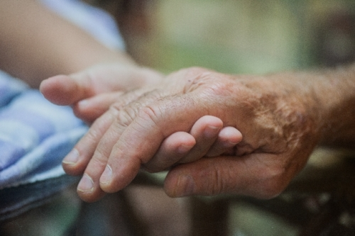 高齢者を支える