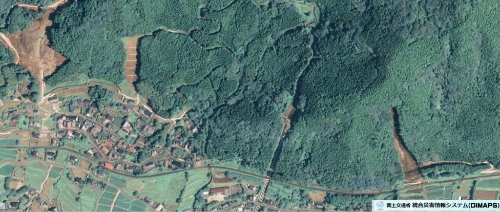 国交省・国土地理院Dimapsの上空写真