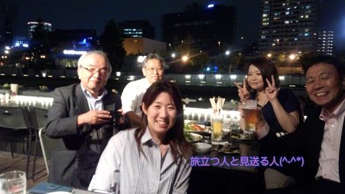 bcao勉強会と平井さんの送別会(平成28年6月14日)