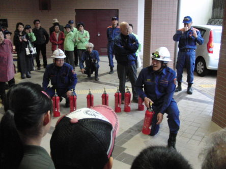 消火器訓練